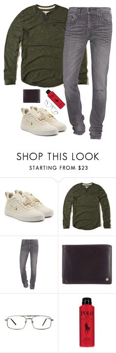"""meet her parents"" by purplicious ❤ liked on Polyvore featuring NIKE, Hollister Co., True Religion, Mulberry, GlassesUSA, Ralph Lauren, men's fashion and menswear"