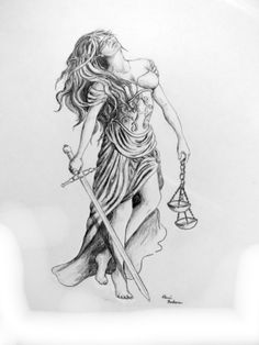 Laura Guttridge Models For The Lady Of Justice