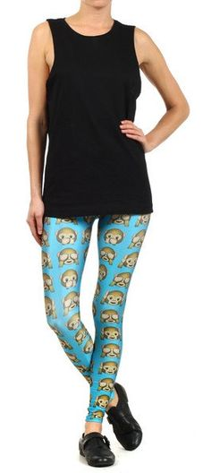 Monkey Leggings: http://shop.nylonmag.com/collections/whats-new/products/monkey-leggings. #NYLONshop