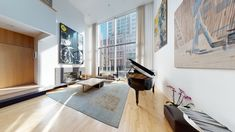 New York Penthouse, New York Tours, Virtual Tour, House Tours, Townhouse, House Plans, Condo, Sweet Home, New Homes