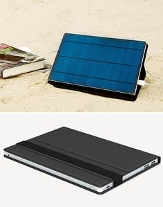 Solartab Solar Charger - Summer is here and that means the beach is where you'll be staring at your phone and scrolling. And if you've got Solartab, a 5.5-watt solar charger designed specifically for charging your phone & tablet, you can soak up the rays & scroll your summer away.