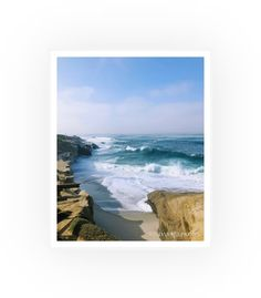 Tropical Beach Resorts, Tropical Beach Houses, La Jolla California, La Jolla Cove, Beach Print, Beach Photography, Beach House Decor, Beach Photos, Travel Inspiration