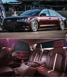 Audi A8, Audi Quattro, Fast Sports Cars, Car Goals, Luxury Cars, Luxury Auto, Car Wheels, Sexy Cars, Vw Passat