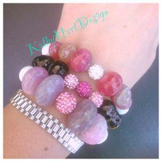 KathyHartDesign bracelets  available on Instagram