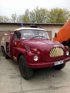 Tatra 138 Fire Trucks, Czech Republic, Land Cruiser, Motor Car, Subaru, Cars And Motorcycles, Techno, Automobile, Vans