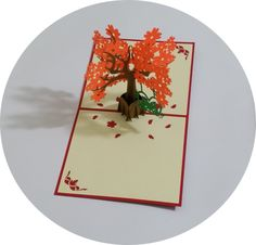 Tree and Little Bears - 3D Pop Up Cards - Greeting Cards - Ovid Gifts