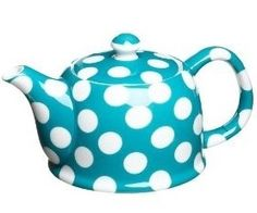 Turquoise Blue Tea Pot - Props available for hire from Party Prop Hire
