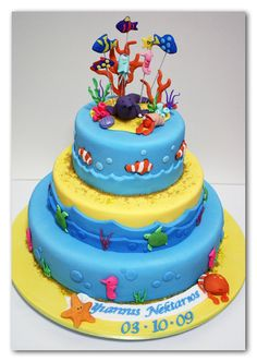 under the sea cakes for children | Under the Sea Cake Detail