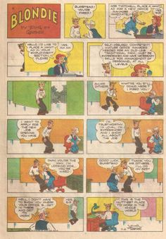 Blondie....a Sunday Comics staple