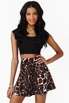 #nastygal.com             #Skirt                    #Prowlin' #Skater #Skirt  Prowlin' Skater Skirt                               http://www.seapai.com/product.aspx?PID=1504316