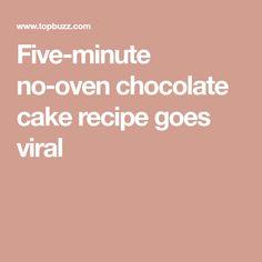 Five-minute no-oven chocolate cake recipe goes viral Sweet Like Chocolate, Chocolate Cake, What Is Cake, 10 Inch Cake, Make A Mug, Sugar Cravings, Italian Cooking, Cake Batter, Something Sweet