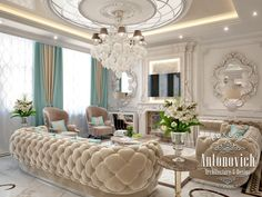 16 Conventional Posh Living Room Design Ideas for Luxurious Home Classic Interior, Luxury Interior Design, Interior Design Living Room, Living Room Designs, Design Room, Living Room Furniture, Living Room Decor, Bedroom Decor, Bedroom Ideas