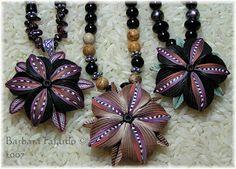 Barb Fajardo, polymer clay jewelry