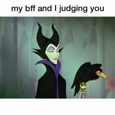 My bff and i judging you