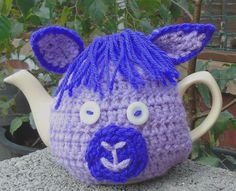 Details about Hand knitted tea cosy cosies crochet Daffodil Bee cottage owl…