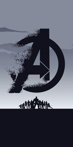 Film Avengers: Endgame, Minimal, Silhouette, Kunst, Hintergrundbild - de todo un poco - Marvel Marvel Avengers, Marvel Fan, Marvel Dc Comics, Marvel Heroes, Avengers Images Hd, Marvel Logo, Avengers Memes, Marvel Universe, Marvel Background