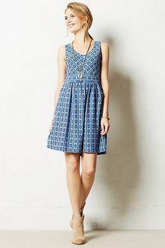 Lazuli Dress #anthropologie