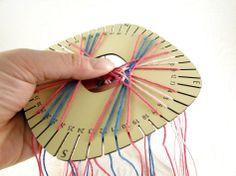DIY Kumihimo Disks (and link to the Craft Design On-line kumihimo braid gallery)