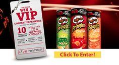 Click To Enter Pringles Summer Jam VIP Experience #PringlesSummerJamSweeps AD