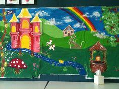 Castle/ Fairy Tales display