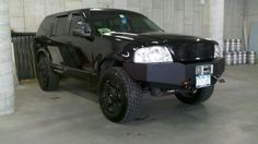 Ford explorer lifted w/winch