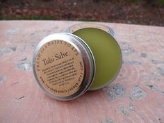 "tulsi-salve-with-comfrey-jewelweed-tulsi aka ""holy basil"", comfrey,  jewelweed, essential oils of clary sage, lavender, rosemary and patchouli"