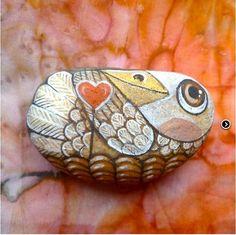 Pták Štěstílek slaví Valentýna G