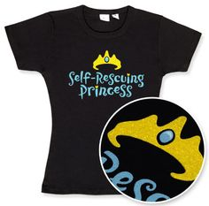 I like this one, too. :) Perhaps with a tiara. For the WDW Princess Half Marathon. ThinkGeek :: Self-Rescuing Princess Babydoll