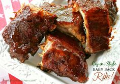 Louisiana Cajun-Style BBQ Baby Back Ribs in the oven. (Dry Rub & Easy ...