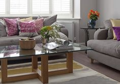 This light and spacious 1930s house was the perfect blank canvas for a modern colour scheme and style revamp.