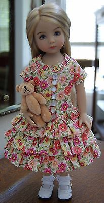 "DIANNA EFFNER LITTLE DARLING 13"" VINYL DOLL PAINTED BY GERI URIBE"
