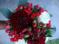 Bouquet di fiori realizzato da Giuseppina Comoli floral designer