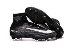 d778e381db55 Nike Mercurial Superfly V FG Black/Gray/White Nike Football, Nike Soccer,