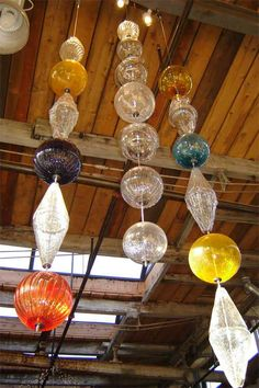 Glassblowing studio in Baltimore, Maryland. Glass Slipper, Finding A House, Hand Blown Glass, Garden Art, Glass Art, Diy And Crafts, Sculptures, Baltimore Maryland, Crafty
