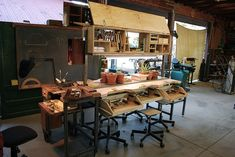 Awesome jewelry making teaching workshop setup