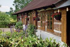 ... Cabana, Gazebo, Pergola, Design Exterior, French Country Farmhouse, Natural Homes, House Landscape, Garden Cottage, Traditional House