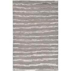 Safavieh Handmade Soho Stripes Grey New Zealand Wool Rug (5' x 8') - Overstock™ Shopping - Great Deals on Safavieh 5x8 - 6x9 Rugs