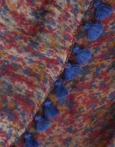 NAVY-AUTUMN FLORAL SCARF Floral Scarf, Silk Scarves, Womens Scarves, Women Wear, Autumn, Navy, Fabric, Prints, Design