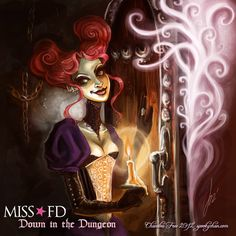 Miss FD - Down in the Dungeon by =SpookyChan on deviantART