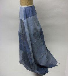 Denim Skirt.