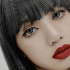 Cute Fantasy Creatures, Lisa Blackpink Wallpaper, Blackpink Photos, Blackpink Fashion, Blackpink Lisa, Korean Makeup, Kpop Girls, Lip Colors, Asian Beauty
