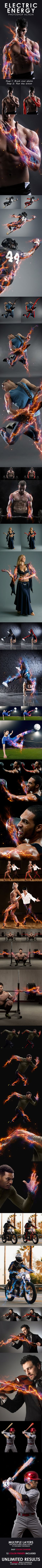 Electric Energy Photoshop Action. Download here: http://graphicriver.net/item/electric-energy-photoshop-action/16607820?ref=ksioks