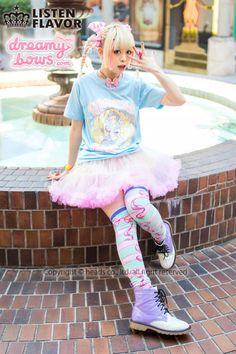 Harajuku Gyaru Fashion, Pastel Fashion, Harajuku Fashion, Kawaii Fashion, Lolita Fashion, Colorful Fashion, Cute Fashion, Asian Fashion, Japanese Street Fashion
