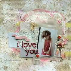 Just because I love you by Riikka Kovasin for Paperilla