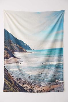 Catherine McDonald For DENY Pacific Coast Highway Tapestry - Urban Outfitters