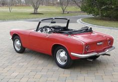 One of Honda's first cars! 1965 Honda S600 Roadster! So far ahead of its time..