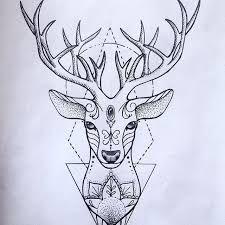 Resultado de imagem para tatuagem coração com flores e alce