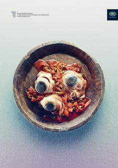 Land Rover: Eating Out, Wildebeest eyeballs