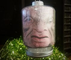 "Doctor Who inspired ""Face of Boe"" Christmas Ornament by DecalsAreCool on Etsy"