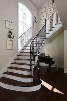 Chandler Bend - traditional - Staircase - Jacksonville - Andrew Howard Interior Design